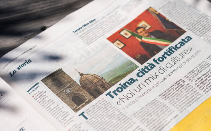 Enjoy Troina sul Corriere della Sera